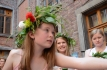 Corona de Flores -naturales- Hechas por la Escuela Polaca Wawel.