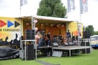 Uno de los tres escenarios de Rhein Neckar Fernsehen