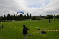 Muestras deportivas como Parapente y Ultimate Frisbee