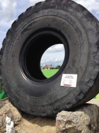 La rueda más grande del mundo - Pesa 6 toneladas y tiene 4m de diámetro