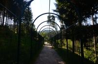 Caminos para los visitantes
