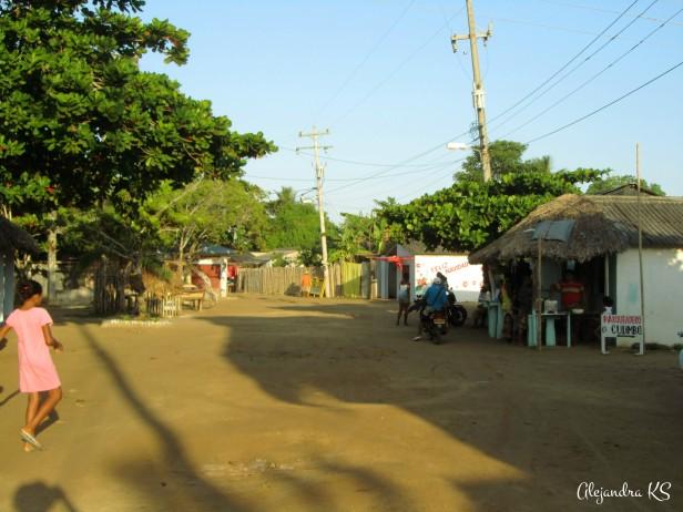 Recorriendo las calles de Rincon del Mar
