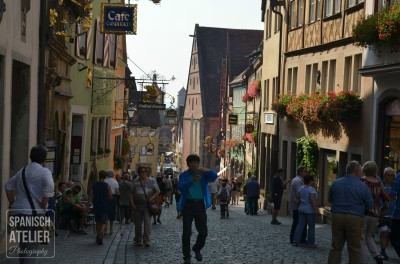 En el corazón de Rothemburg.